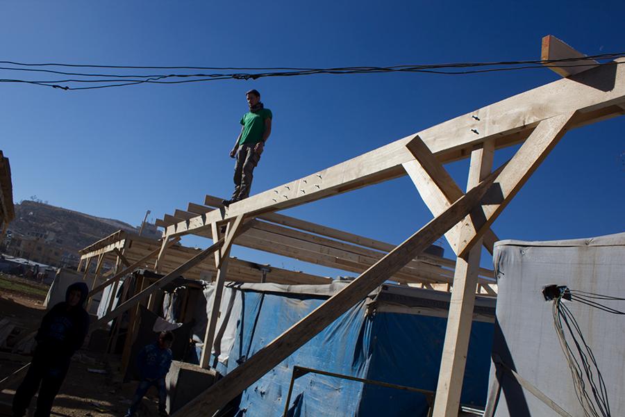 Mission accomplie : les Green Helmets ont terminé leurs travaux dans le foyer Ouzai