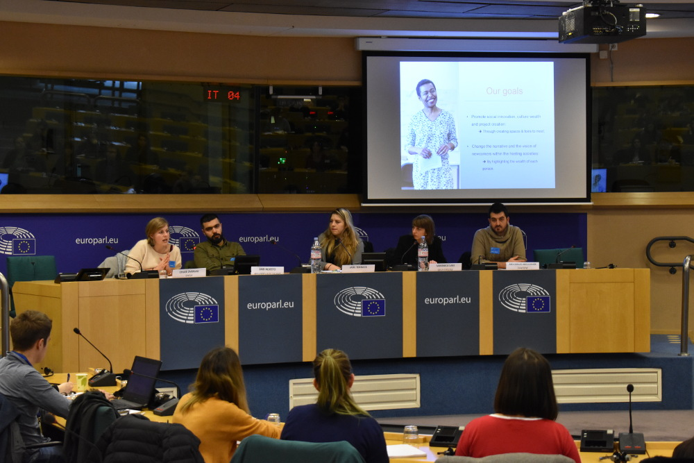SB OverSeas presents volunteering programme at the European Parliament