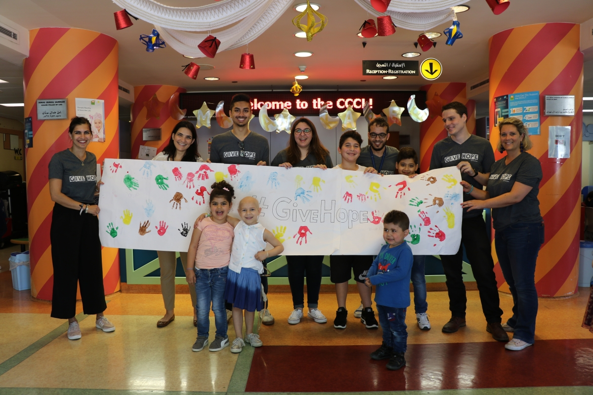 SB OverSeas pays a visit to the Children's Cancer Centre in Lebanon