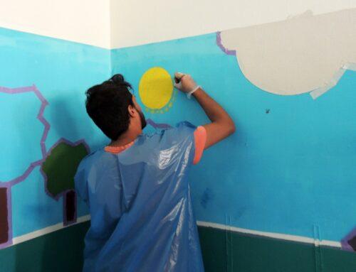 Volunteering with SB Espoir: Rashid