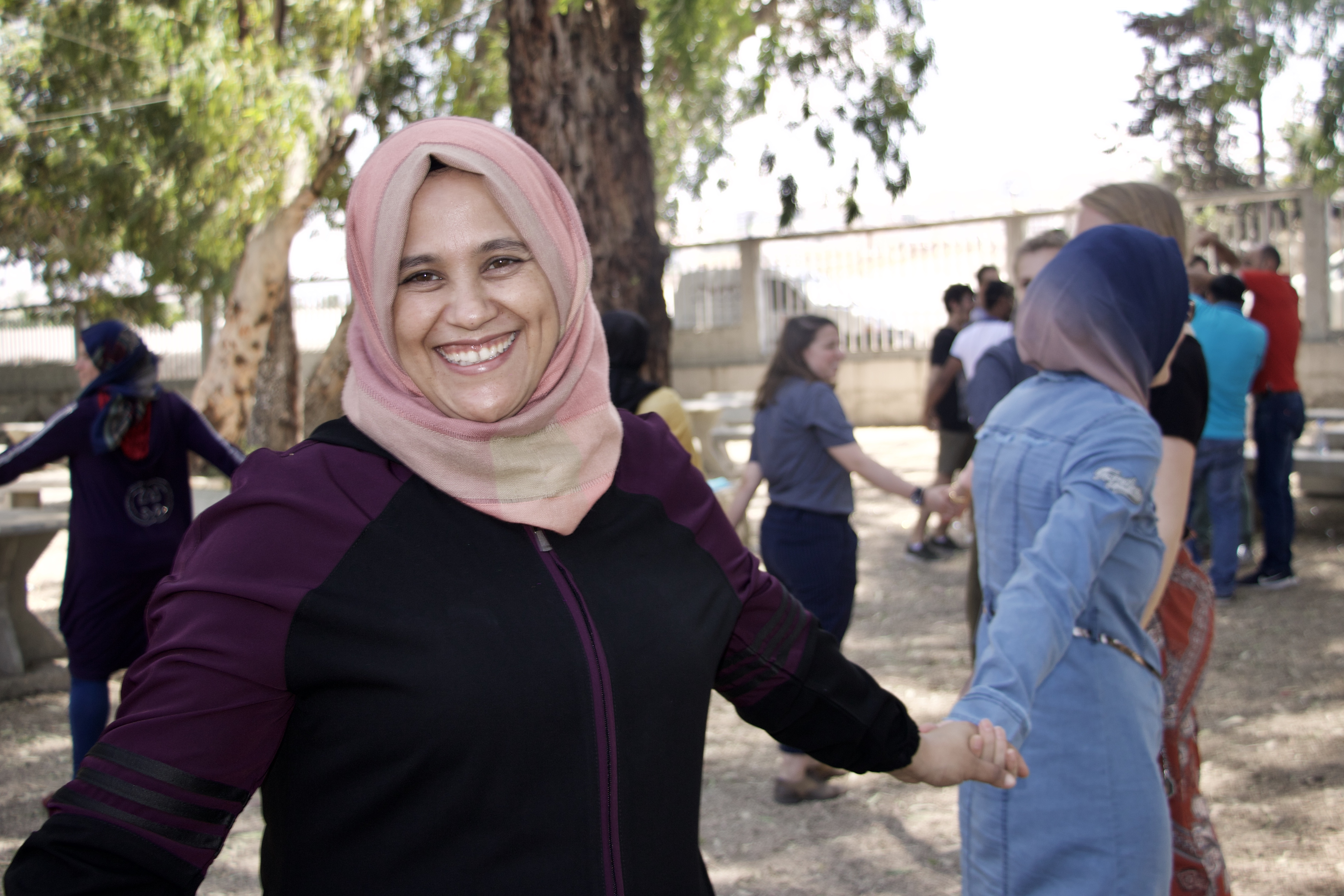 Looking back on a year of activities empowering refugee women and youth