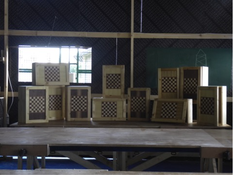 Carpentry workshop for youth in Saida