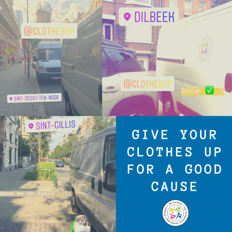 End-of-Summer cleaning: Donate your unused clothes for refugees to prepare for winter