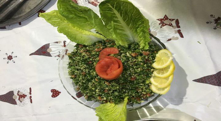 Dinner with haifa