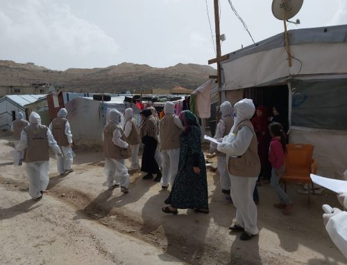 Emergency COVID-19 support provided to families in Arsal camps